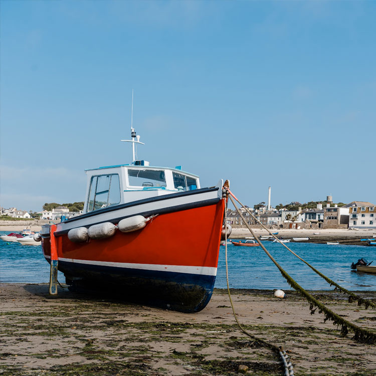 Boat Launch and Recovery - Island Carriers, Isles of Scilly