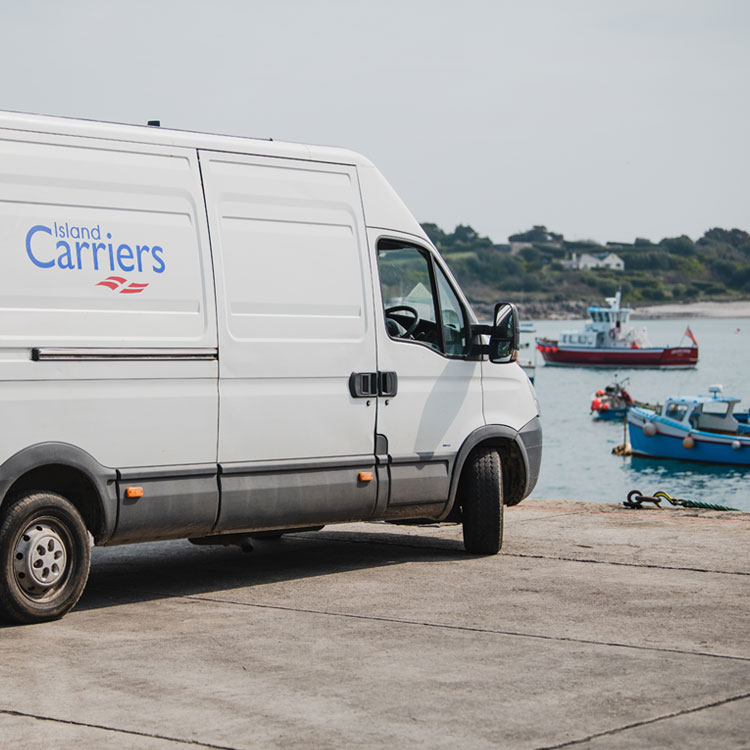 Van Hire - Island Carriers, Isles of Scilly